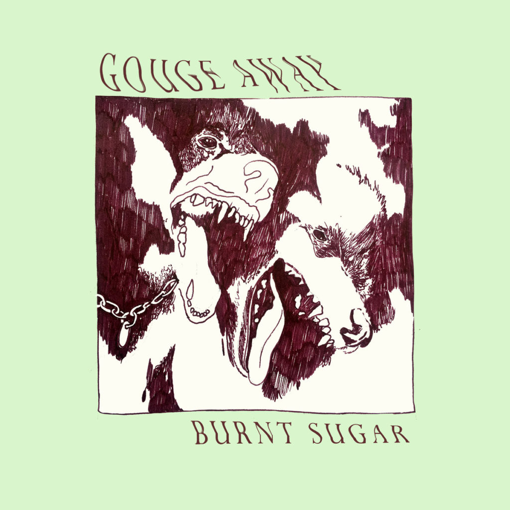 gouge away burnt sugar
